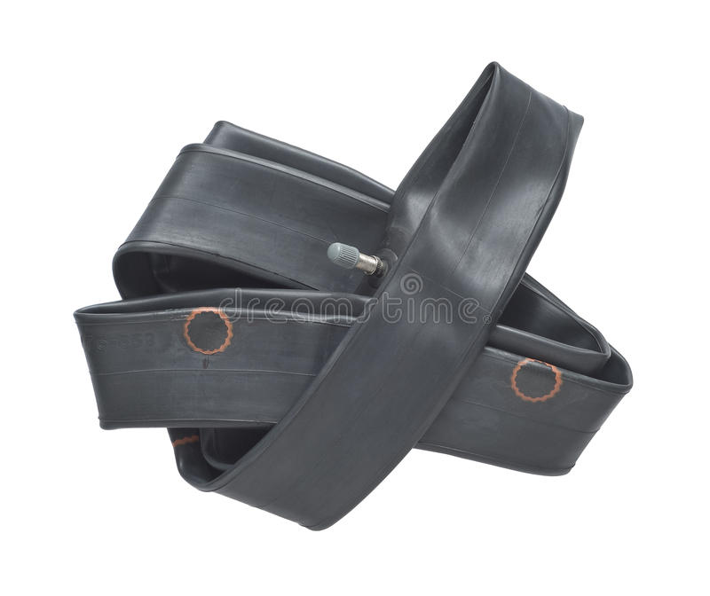 Tire Tube with Patches