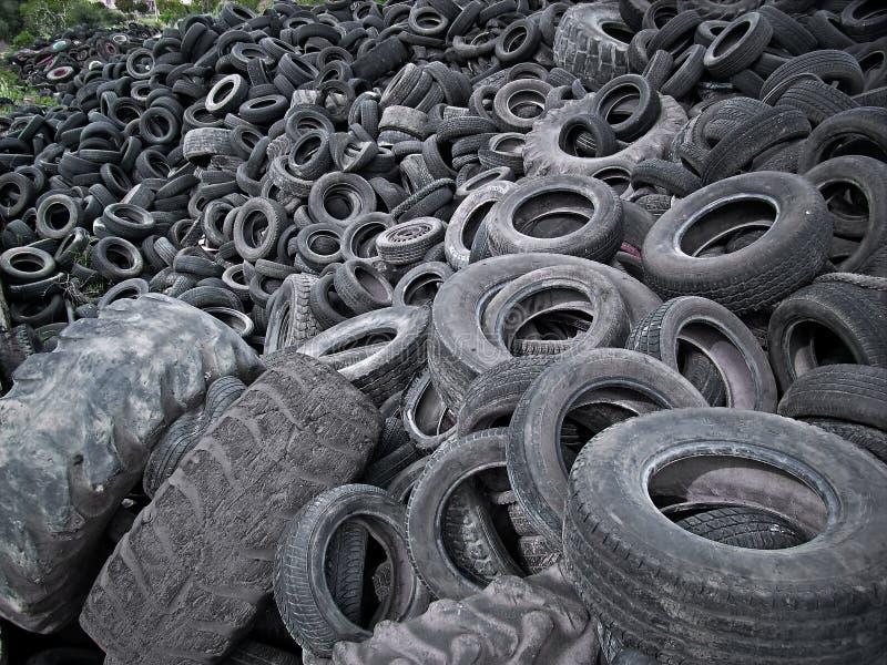 Tire Waste royalty free stock photos