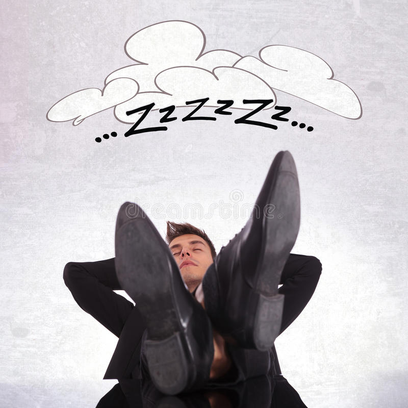 Download Tired Business Man Sleeping Stock Image - Image: 28955407