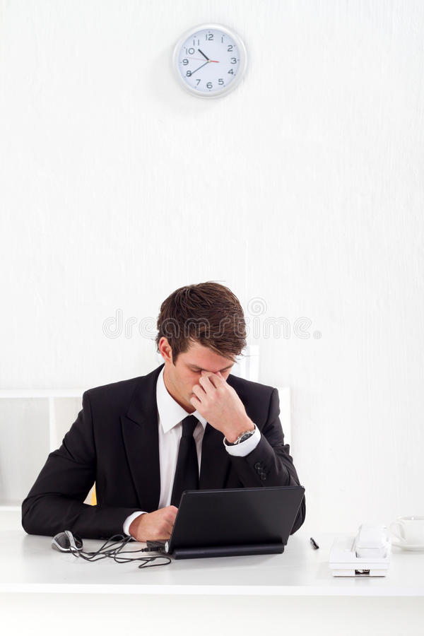 Download Tired Businessman Stock Images - Image: 16034434