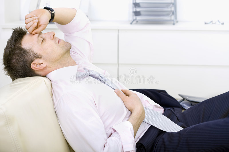 Download Tired Businessman Stock Image - Image: 5188681