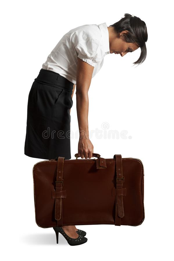 Download Tired businesswoman stock image. Image of occupation - 28900937