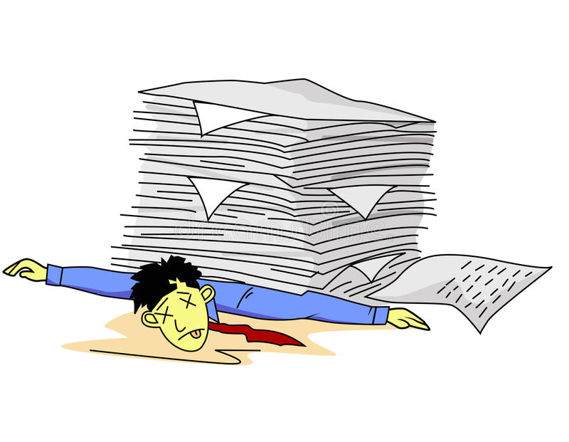 Download Tired man stock vector. Illustration of image, effort - 22747445