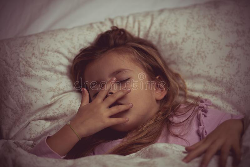 Tired of daily obligations royalty free stock images