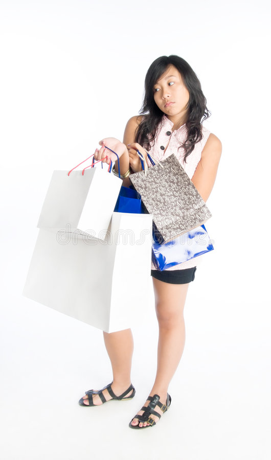 Download Tired Out by Shopping stock image. Image of arms, sleeveless - 6678749