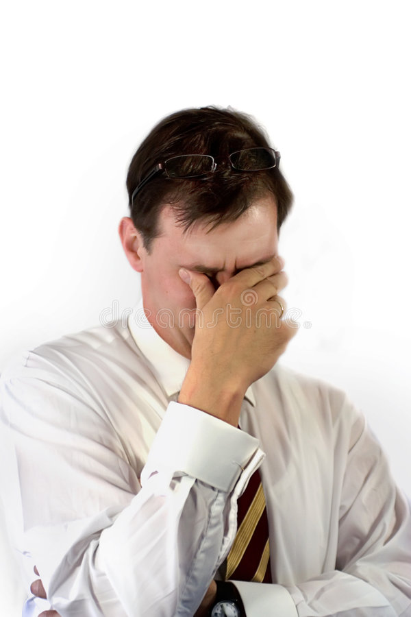Download Tired from problems stock image. Image of pain, frustrated - 4888377