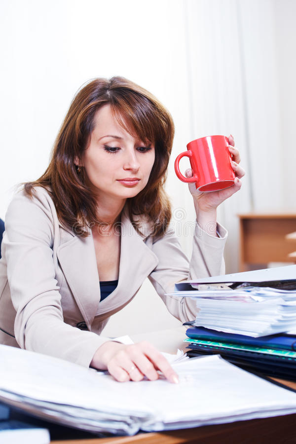 Download Tired woman stock image. Image of professional, overworked - 21700107