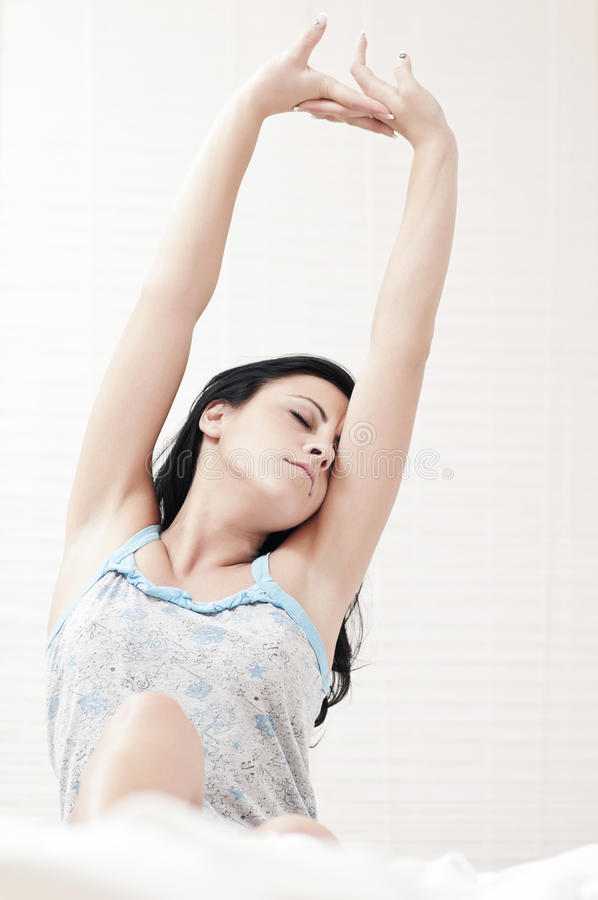 Download Tired Woman Stretching Stock Photos - Image: 23788173