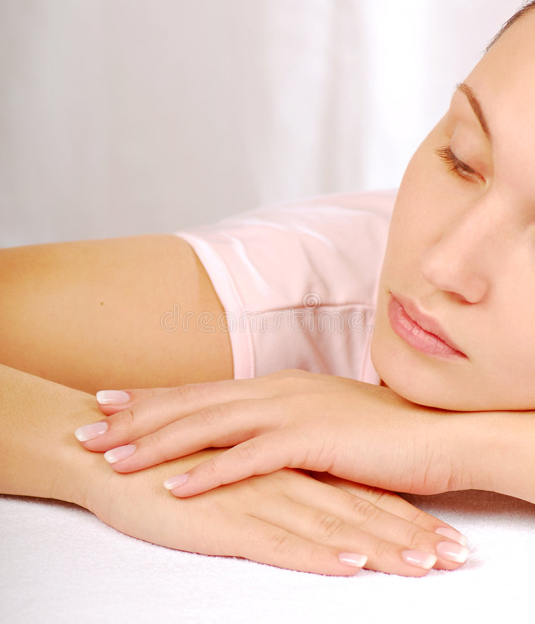Tiredness & Relaxation Royalty Free Stock Photography
