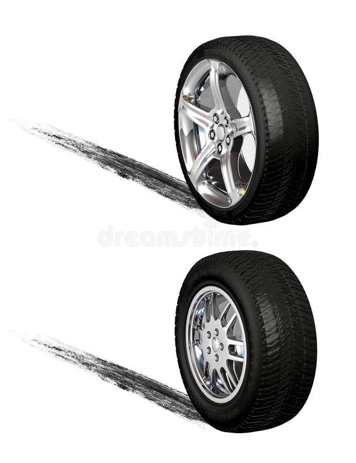 Download Tires stock illustration. Image of tire, steel, shiny - 7486716