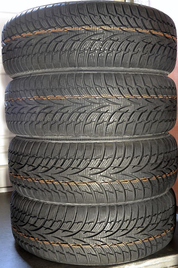 Tires car royalty free stock images