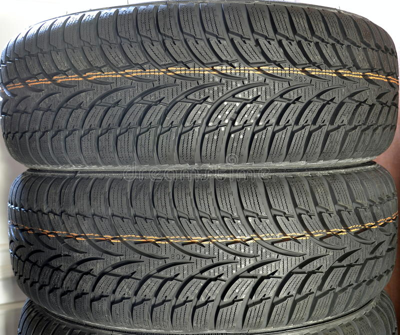 Tires car royalty free stock image