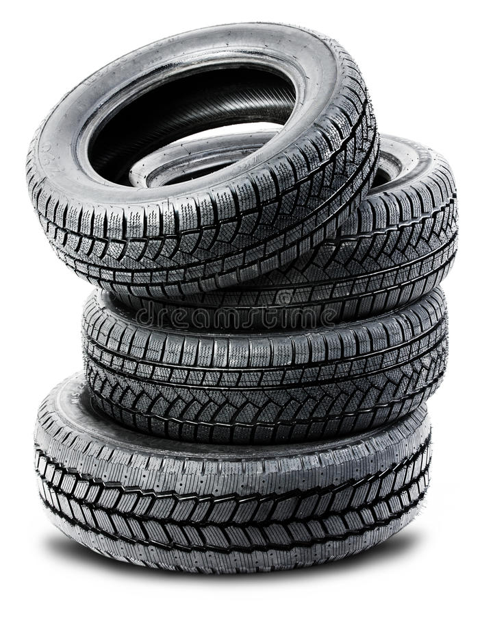 Download Tires On The White Background Stock Photo - Image of racing, background: 26962764
