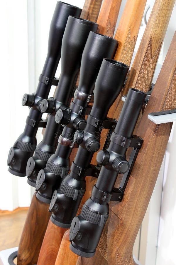 Tireur isolé pour le fusil de chasse photographie stock libre de droits