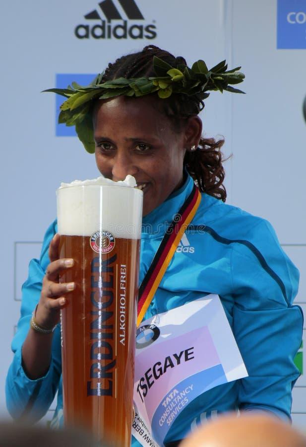 Tirfi Tsegaye royalty-vrije stock afbeeldingen