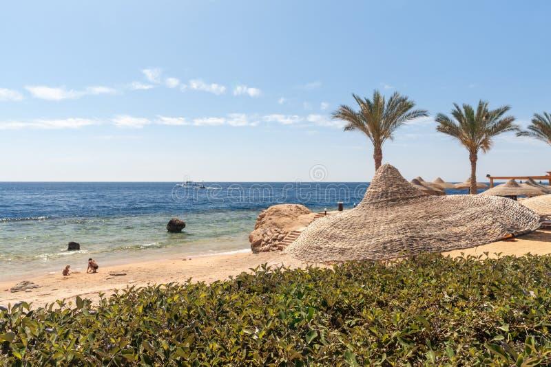 Tiri all'albergo di lusso, lo Sharm el Sheikh, Egitto fotografia stock libera da diritti