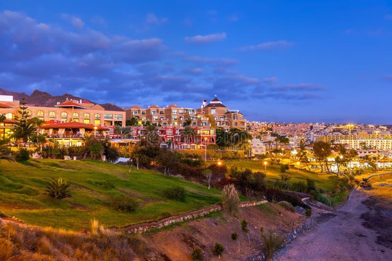 Tiri Las in secco Americas nell'isola di Tenerife - canarino immagini stock