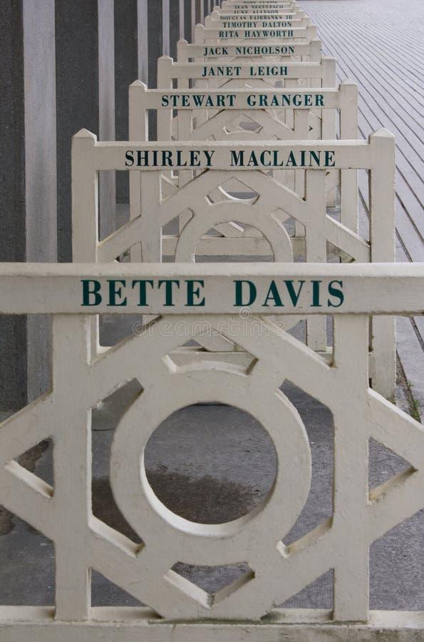 Tiri le capanne in secco (dettaglio), Deauville immagine stock libera da diritti