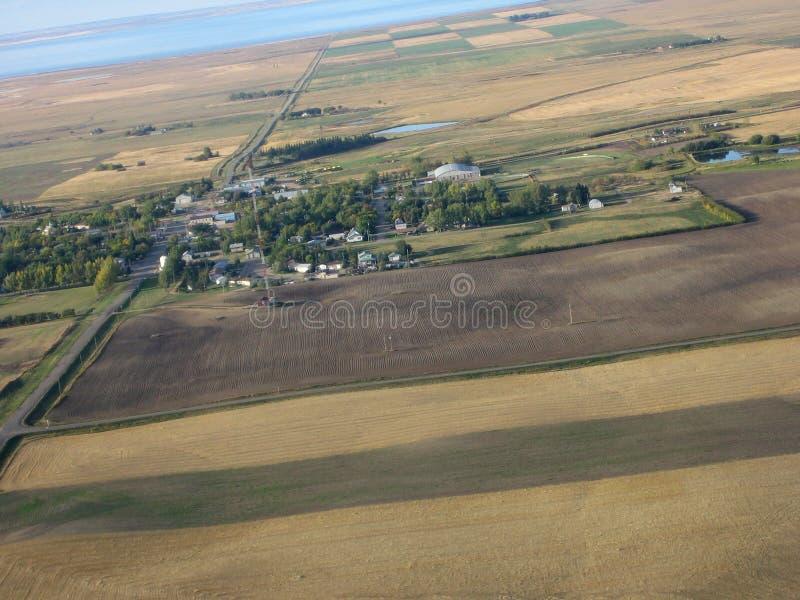 Download Tiro aéreo de Saskatchewan imagem de stock. Imagem de azul - 534255