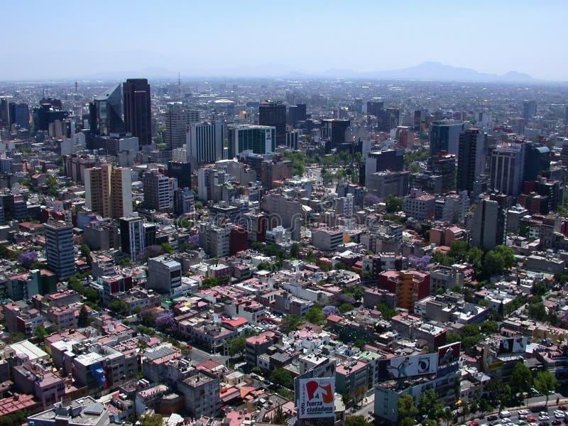 Antena de Cidade do México fotos de stock