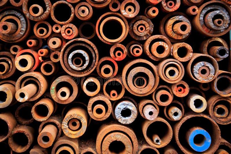 Tiro colorido de las texturas de la rueda del metal y del otro detalle del metal foto de archivo libre de regalías