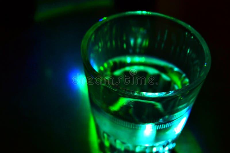 Tiro De La Vodka Fotografía de archivo libre de regalías