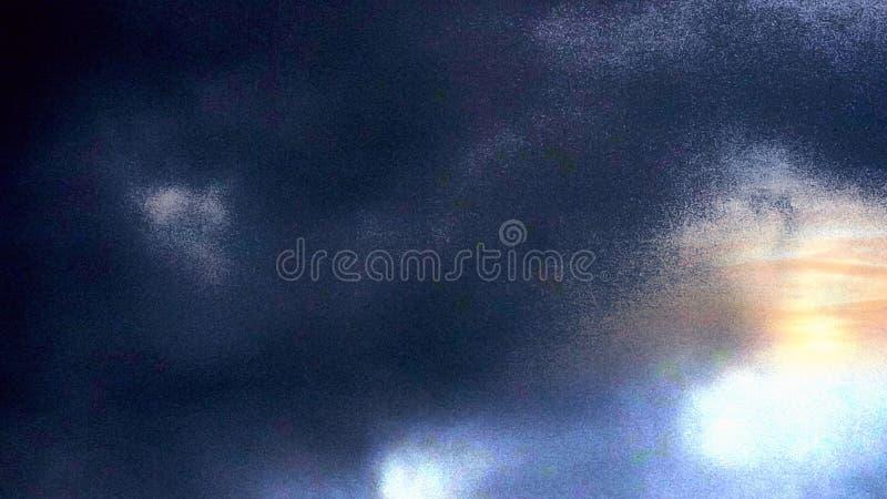 Tiro del azul de cielo fotografía de archivo
