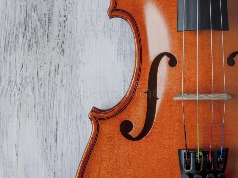 Tiro del primer del violín foto de archivo libre de regalías
