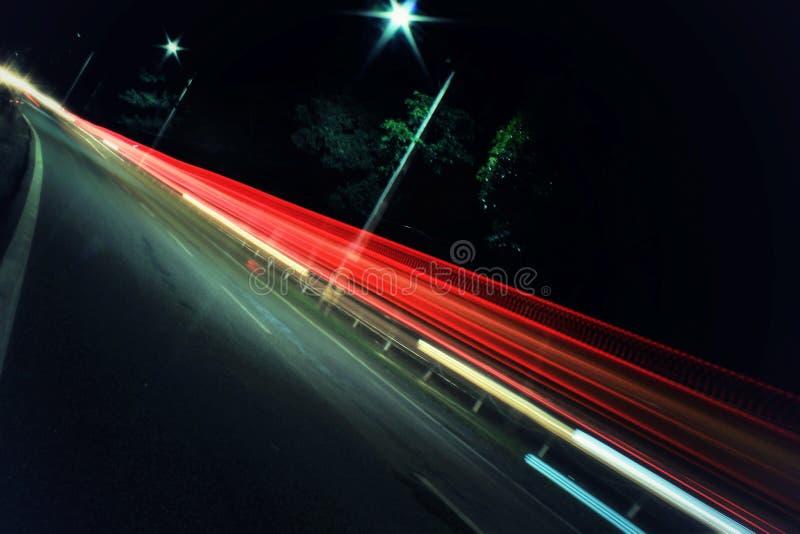 Tiro di notte fotografia stock