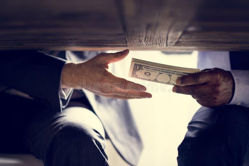Tiro diverso do crime da corrupção dos povos fotografia de stock royalty free