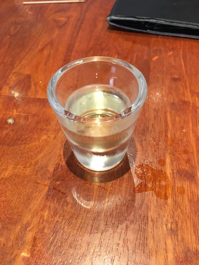 Tiro do álcool fotografia de stock