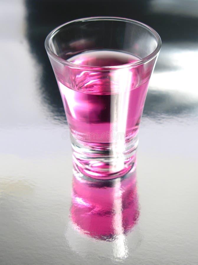 Tiro do cocktail da cereja fotos de stock