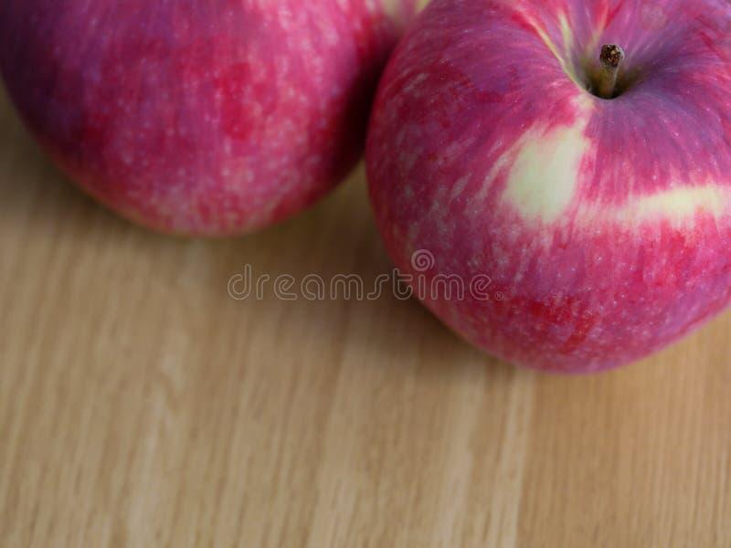Tiro do macro das maçãs da água da boca foto de stock