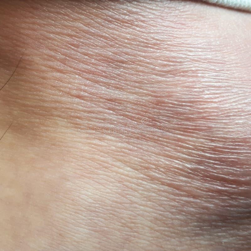 tiro do pé humano da pele imagens de stock