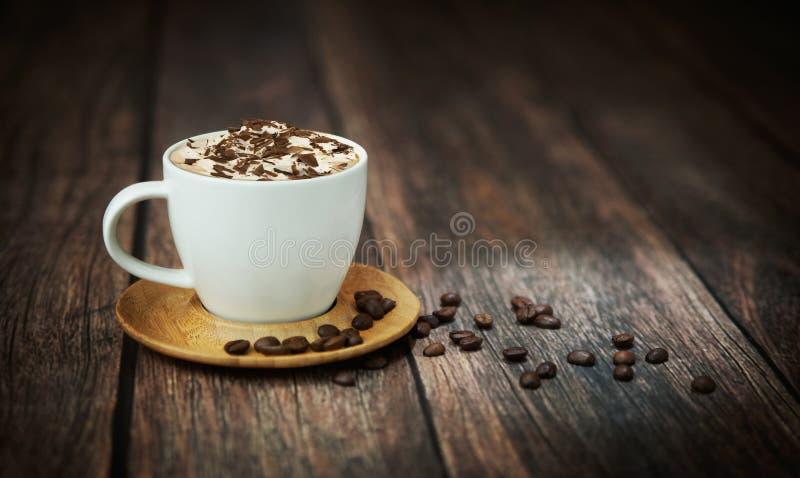 Tiro fino da chávena de café foto de stock