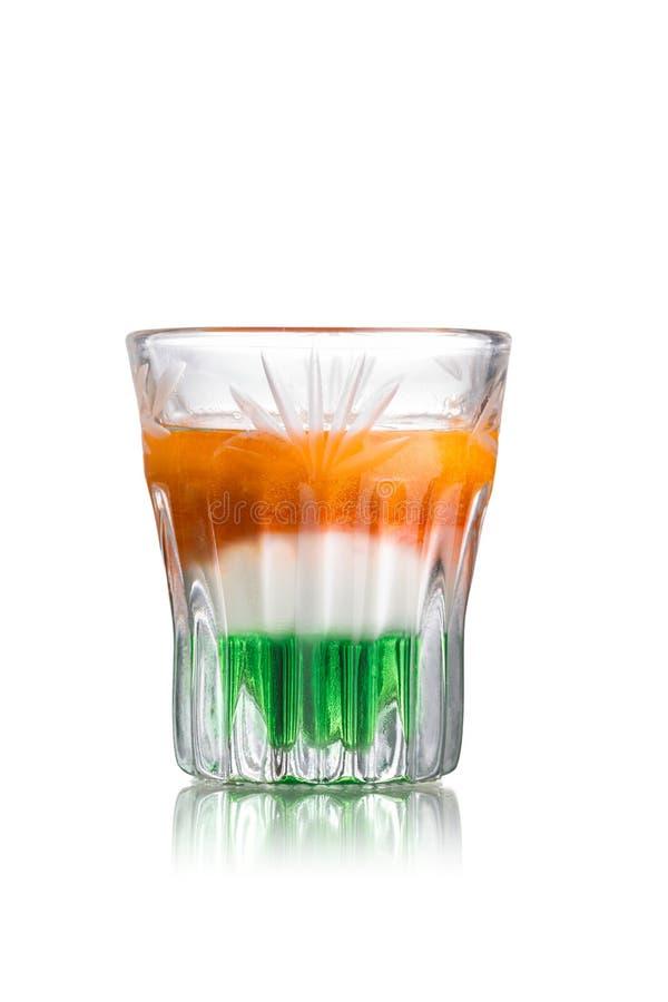 Tiro irlandês da bandeira foto de stock