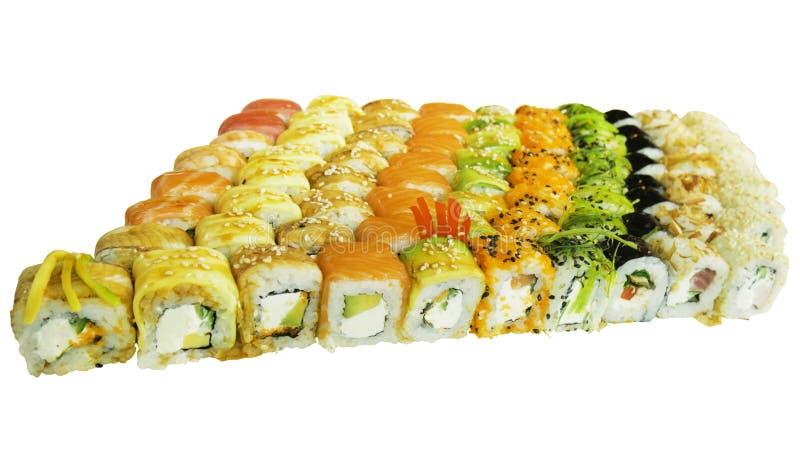 Tiro macro del sushi Restaurante japonés, sushi, tradición oriental fotos de archivo