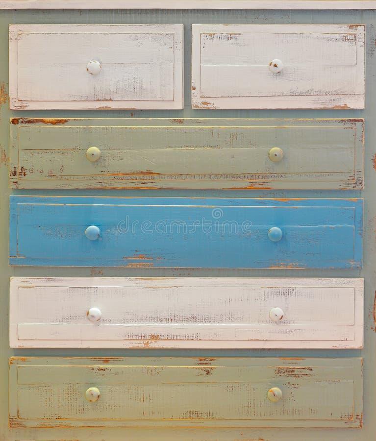 tiroirs photo stock