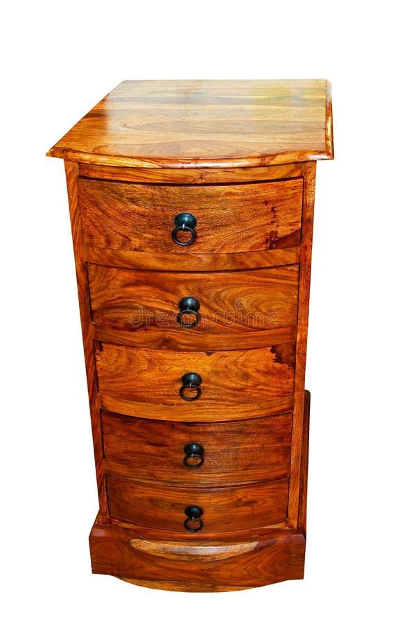 tiroirs en bois image libre de droits