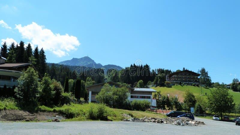 Tirol landskap royaltyfria foton