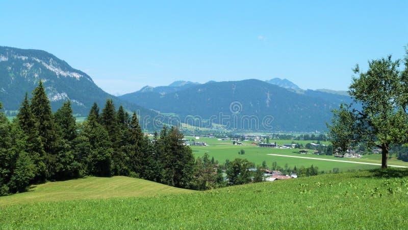 Tirol landskap royaltyfri fotografi