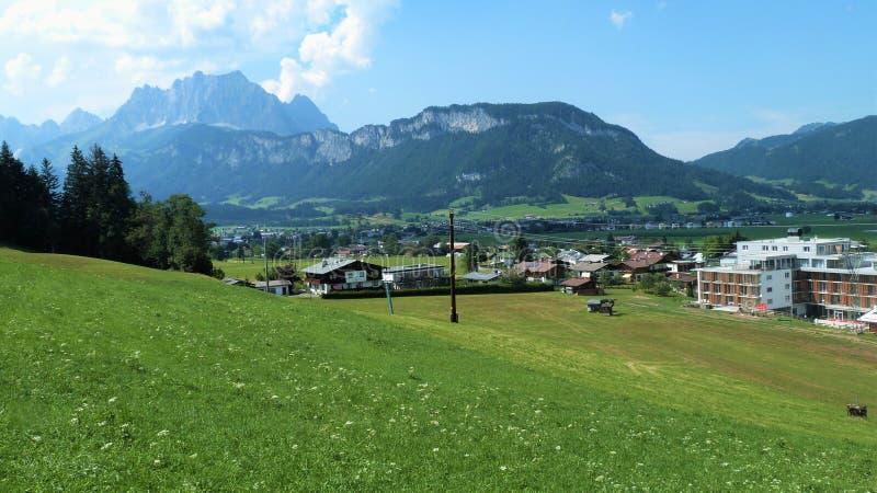 Tirol landskap royaltyfria bilder