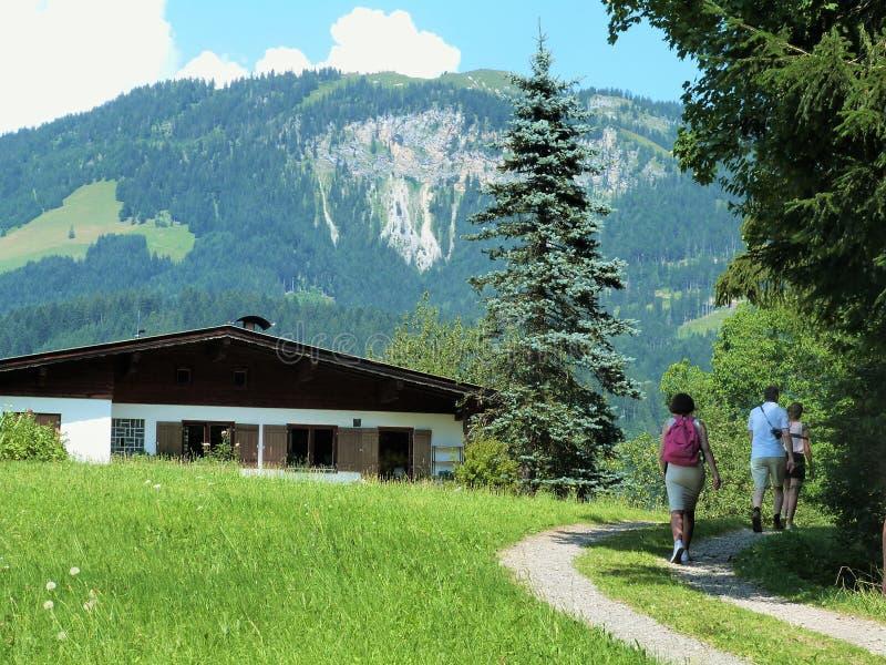 Tirol landskap arkivfoto
