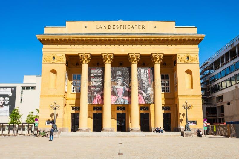 Tiroler Landestheater因斯布鲁克,奥地利 免版税库存照片