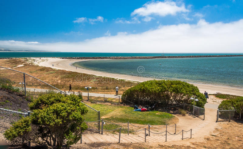 Tiros EUA de Half Moon Bay, Califórnia fotografia de stock royalty free