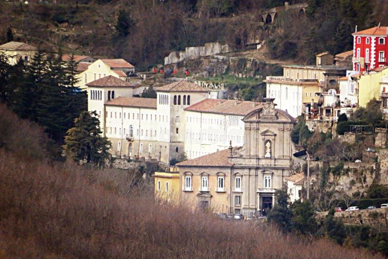 Tirreni dei Badia Кава стоковые фотографии rf