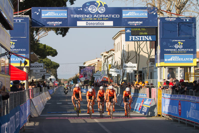 Tirreno Adriatico, first stage