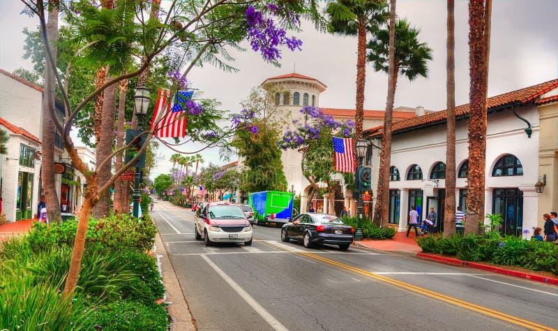 Tirs de Santa Barbara - de voyage de la Californie image stock