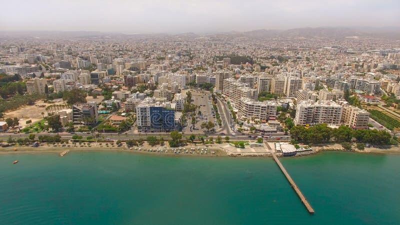 2 tirs de ville de Limassol en Chypre photo libre de droits