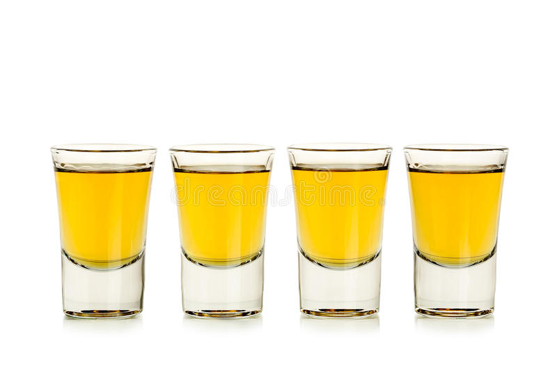 Tirs de whiskey image stock